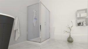 Shower Enclosures Easyfit in 3D Video